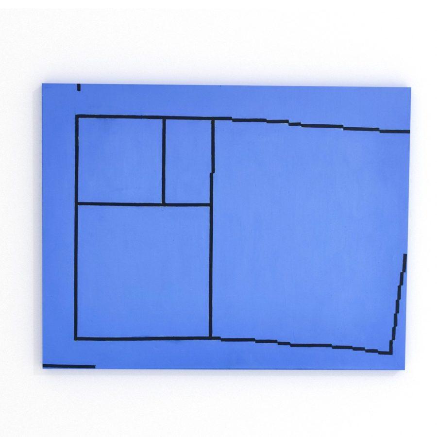 Obraz minimalistyczny do wnętrz Konrad Peszko