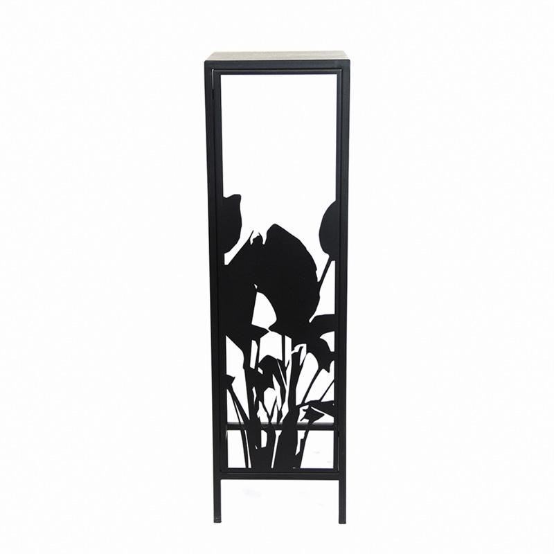 Kwietnik z motywem roślinnym ażurowym Kwiaty Paproci