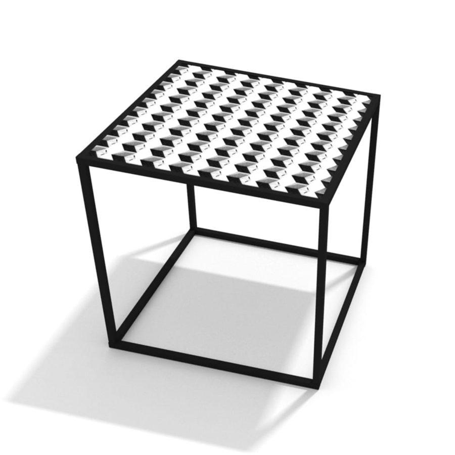 stolik kawowy kwadratowy loft