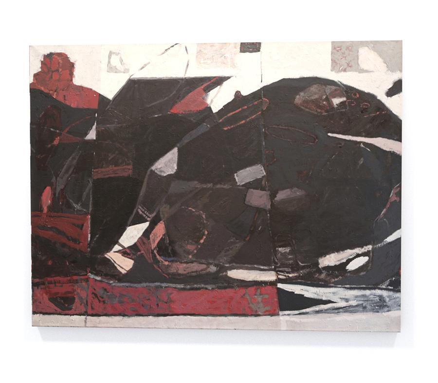 obraz abstrakcyjny artysty współczesnego Kolanko