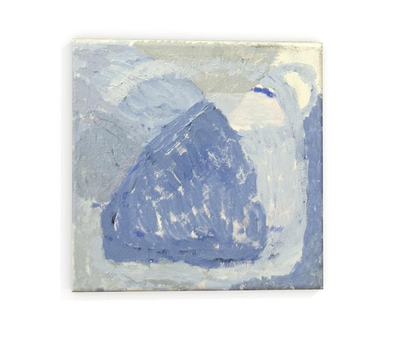 obraz abstrakcyjny błękitny do restauracji salonu Kolanko