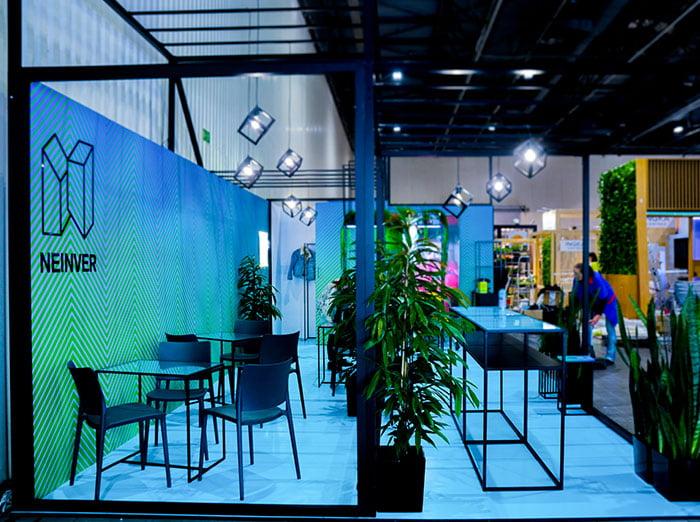 Stoisko targowe loftowe nowoczesne w Warszawie Expo XXI